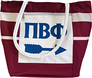 Pi Beta Phi Canvas Tote Bag