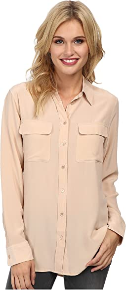 EQUIPMENT - Slim Signature Blouse