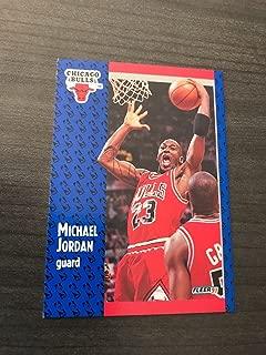 1991-92 Fleer Basketball #29 Michael Jordan Chicago Bulls