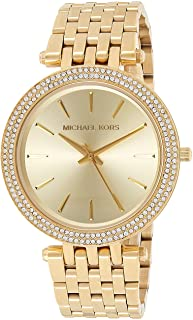 Michael Kors Darci Women's Gold Dial Stainless Steel Analog Watch - MK3191
