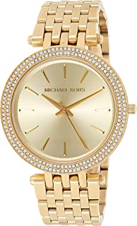 Michael Kors Womens Quartz Watch, Analog Display and Stainless Steel Strap MK3191