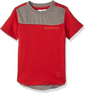 AKADEMIKS Boys Short Sleeve Elongated Tee Shirt Short Sleeve T-Shirt