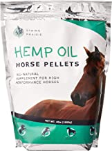 Hemp Horse Pellets - Reduce Pet Stress, Anxiety, and Aggression - Hip and Joint Non-GMO Calming Supplement - Supports The ...