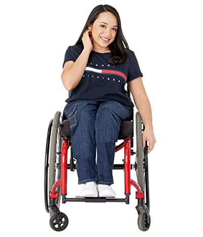 Tommy Hilfiger Adaptive Seated Fit T Shirt with Adjustable Closure
