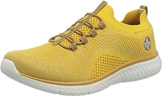Rieker Femme Chaussures Basses N9474, Dame Bas,Faible