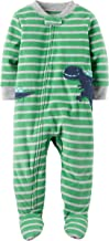 Carter's Baby Boys' 1 Piece Cotton Footed Sleepers