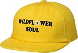 Tiny Whales Wildflower Soul Snapback Hat (Toddler/Little Kids/Big Kids)