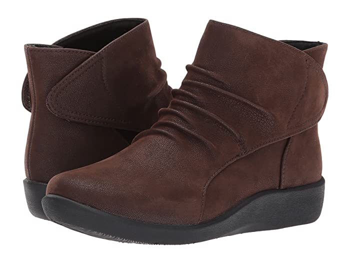 Clarks  Sillian Sway (Brown) Womens  Boots