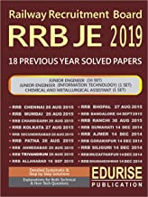 RRB Junior Engineer 2019 18 Previous Year Solved Papers (RRB JE Junior Engineer)