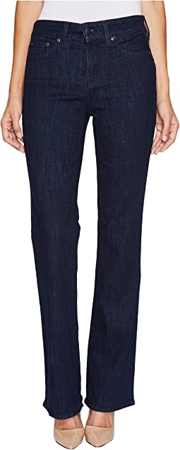 NYDJ Barbara Bootcut Jeans in Crosshatch Denim in Rambard
