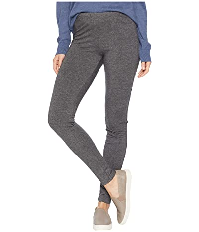 Splendid French Terry Leggings (Charcoal) Women