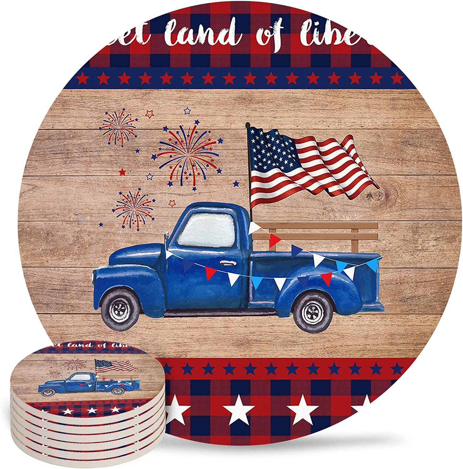 Coasters Ranking TOP14 for Drinks Absorbent Drink Coaster Ind Base Cork with Limited price