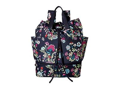 Vera Bradley ReActive Sport Bag (Itsy Ditsy Floral) Backpack Bags