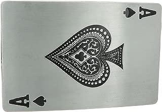Ace of Spades Belt Buckle