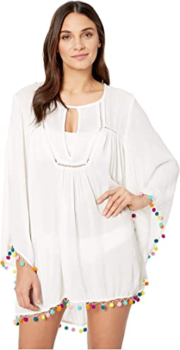 Jazzy Covers Open Back Tunic Cover-Up