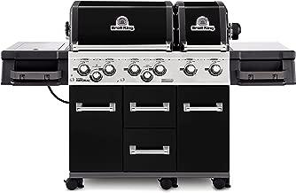 Broil King Imperial XL Black - Black - 6 Burner - Propane Gas Grill