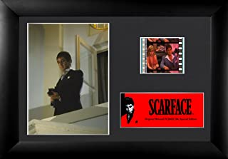 Scarface (Tony Montana – Suit and Gun) Authentic 35mm Film Cells Special Edition Display