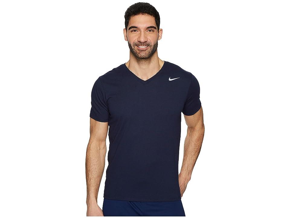 Nike Dry Training V-Neck T-Shirt (Obsidian) Men