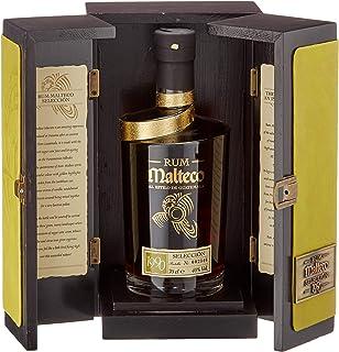 Malteco Seleccion 1990 Wooden Box Dark 1 x 0.7 l