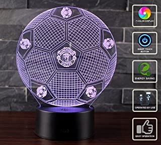 3D Lámpara de Escritorio Mesa NHSUNRAY 7 cambiar el color ...