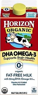 HORIZON Organic DHA Fat Free Milk, 64 oz