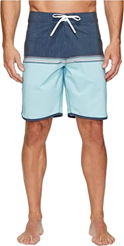 VISSLA Dredges Four-Way Stretch Boardshorts 20""