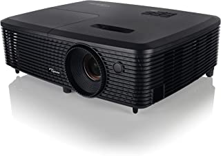 Optoma S321 SVGA 3D DLP Multimedia Projector, Black