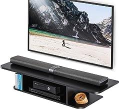 FITUEYES Grano Mesa Flotante para TV Mueble para TV en la Pa
