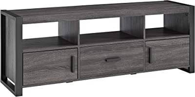 Walker Edison Furniture Company WE Furniture, TV Stand, Charcoal, 60 Inch
