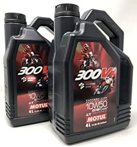 Motor Competition Oil Motul 300V2 Road Racing 10W50  Pack Litres