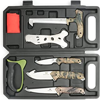 MOSSY OAK Field Dressing Kit, Portable Butcher Game...