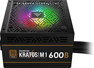 Gamdias Kratos M1 600W 80+ Bronze RGB Power Supply