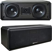 "BIC AMERICA DV-52CLRB 5 1/4"" 2-Way Center Channel Speaker (BIC AMERICA DV52CLRB)"