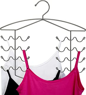3 Pack Chrome Women's Bra Sport Tank Camisole Top Swim Suit Strap Dress Hanger Closet Organizer