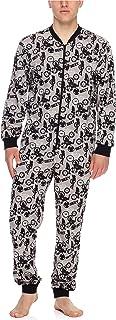 Pijama Entero Una Pieza Ropa de Cama Hombre TI30-119