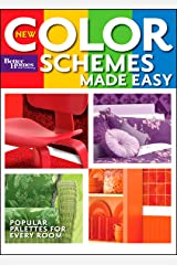 Better Homes and Gardens New Color Schemes Made Easy (Better Homes & Gardens Decorating) Paperback