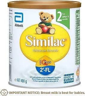 Abbott Similac-On 2'-FL: Follow on Formula Milk Powder for Kids - Stage 2 (after 6 months) 400g