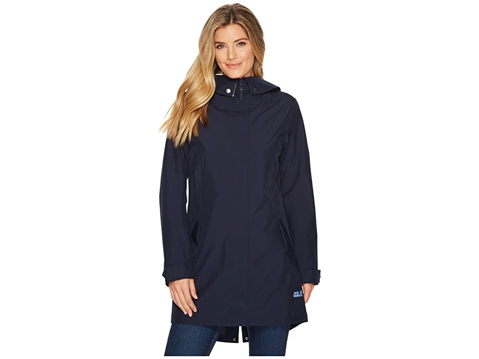 Jack Wolfskin Monterey Coat (Midnight Blue) Women