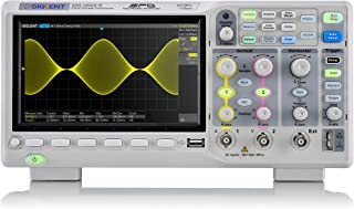 Siglent Technologies SDS1202X-E 200 mhz Digital Oscilloscope 2 Channels, Grey