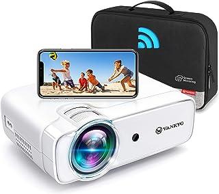 "VANKYO Leisure 430W Pro WiFi Mini Projector [2021 Upgraded], HD 1080P and 236"" Supported, Portable Wireless Mirroring Proj..."