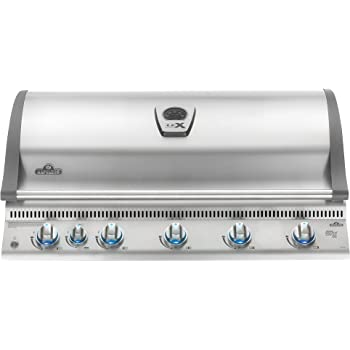 Napoleon LEX 730 Built-In Grill with Infrared Rotisserie (BILEX730RBINSS), Natural Gas