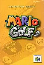Mario Golf N64 Instruction Booklet (Nintendo 64 Manual Only) (Nintendo 64 Manual)