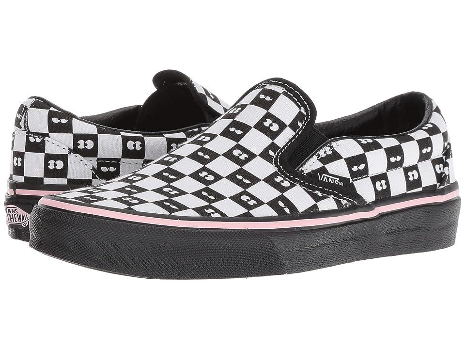 Vans Classic Slip-On X Lazy Oaf Collab (Checkerboard/Eyeballs) Skate Shoes