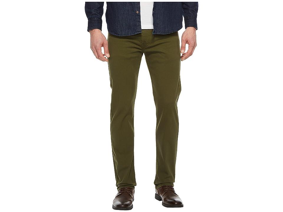 Levi's(r) Mens 513tm Slim Straight Fit (Rainforest Green - Bull Denim) Men's Jeans