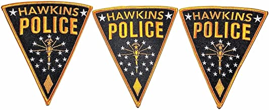 Stranger Things TV Series Hawkins Police Logo 5