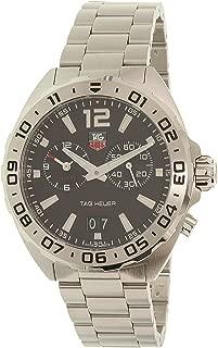 Tag Heuer Men's Formula 1 WAZ111A.BA0875 Silver Stainless-Steel Swiss Automatic Dress Watch