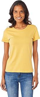 Camiseta World slim decote careca Hering Feminino
