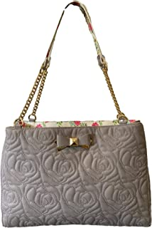 Roxy Quilted Shoulder Bag