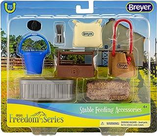 "Breyer Classics Stable Feeding Horse Accessories Set Multicolor, 10.5"" x 8.5"""