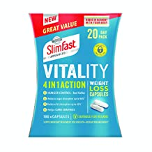 SlimFast Advanced Vitality 4-in-1 Action Weight Loss Capsules 20 Day Pack Estimated Price : £ 52,89